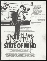 SOCIAL DISTORTION Another State of Mind premiere flier