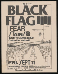 1981 ~ BLACK FLAG at Devonshire Downs (LA)