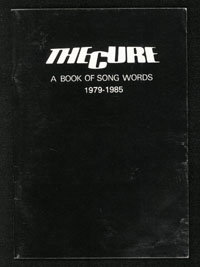 CURE Book of Song Words vol. II