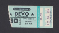 DEVO at Tower Theatre 12.30.78