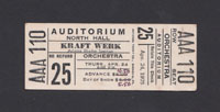 KRAFTWERK at Auditorium North Hall 4.24.75