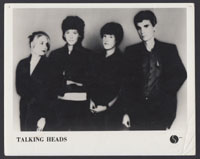 TALKING HEADS promo photo