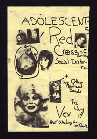 ADOLESCENTS w/ Red Cross, Social Distortion at the Vex