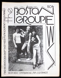 BOSTON GROUPIE NEWS #23
