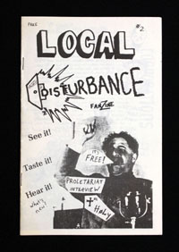 LOCAL DISTURBANCE #2