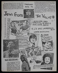 JEWS FROM THE VALLEY w/ Jennifer Miro, Carnival of Souls, Nuclear Boys at HJ's