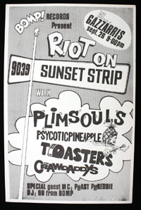 PLIMSOULS w/ Psycotic Pineapple, Toasters, Crawdaddys at Gazzari's