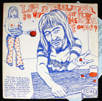 LIFE IS BEAUTIFUL SO WHY NOT EAT HEALTH FOODS? compilation LP (New Underground 1981)