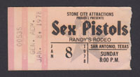 SEX PISTOLS at Randy's Rodeo 1.08.78