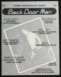 BACK DOOR MAN #14
