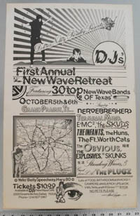 FIRST ANNUAL TEXAS NEW WAVE RETREAT poster