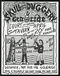 SKULL DUGGERY w/ Genocide at Court Tavern