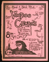 VOODOO CHURCH at Greenmeadows Art Center