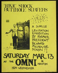 TOXIC SHOCK w/ Butthole Surfers at Omni #1