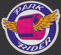 SANTA CRUZ SKATEBOARDS ~ Park Rider sticker