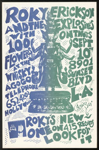 ROKY ERICKSON w/ Explosives, 100 Flowers at the Whisky