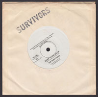 SURVIVORS ~ Baby Come Back 7in. (Real 1977)