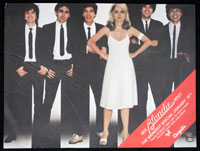 BLONDIE Midnight Special promo flier