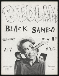 BEDLAM w/ Black Sambo at A7