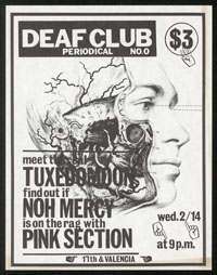 TUXEDOMOON w/ Noh Mercy, Pink Section at Deaf Club