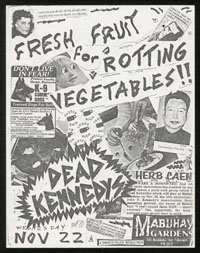 DEAD KENNEDYS at Mabuhay Gardens