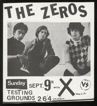 ZEROS w/ X at Testing Grounds