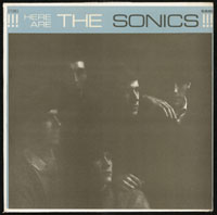 SONICS ~ Here Are The Sonics LP (Etiquette 1965) STEREO