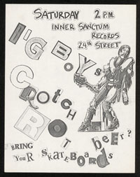 BIG BOYS w/ Crotch Rot at Inner Sanctum