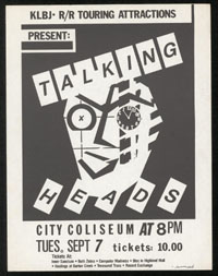 TALKING HEADS at City Coliseum
