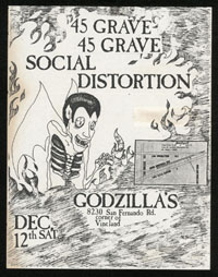 45 GRAVE w/ Social Distortion at Godzilla's