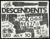 DESCENDENTS at Cuckoo's Nest