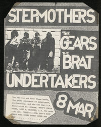 STEPMOTHERS w/ Gears, Brat, Undertakers at Rudy's Pasta House