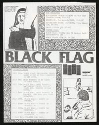 1984 ~ BLACK FLAG mail-out