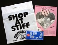 STIFF RECORDS 1978 tour pack
