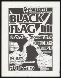 1980 ~ BLACK FLAG at the Hideaway (LA)