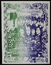 DAMNED w/ Sham 69 at Fort Theater