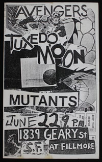 AVENGERS w/ Tuxedomoon, Mutants at Temple Beautiful