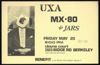 UXA w/ MX-80, Jars at Cloyne Ct.