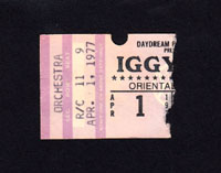IGGY POP at Oriental Theatre 4.01.78