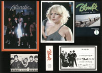 BLONDIE fan club lot