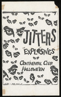 JITTERS w/ Explosives at Continental Club