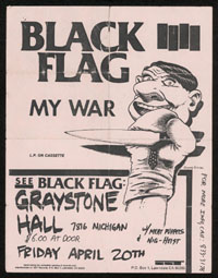 1984 ~ BLACK FLAG at Graystone Hall (MI)