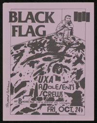 1980 ~ BLACK FLAG at Baces Hall (LA)