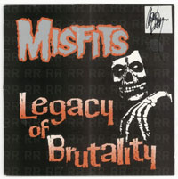 MISFITS ~ Legacy of Brutality LP (Plan 9 Records 1986)