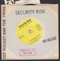TOT ROCKET & THE TWINS ~ Security Risk EP (1981)