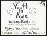 YOUTH IN ASIA Pulling Out The Plug promo flier