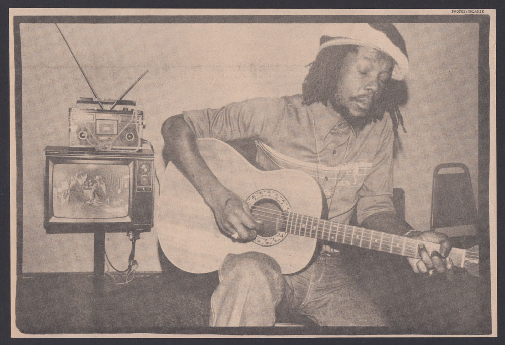 PETER TOSH clippings